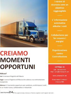 Creiamo momenti opportuni nel trasporto delle merci e dei container