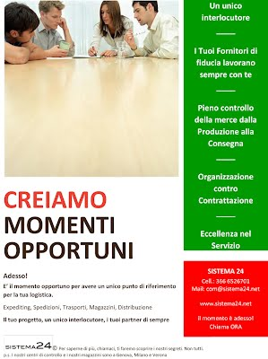 E' il momento opportuno di delegare il Supply Chain Management